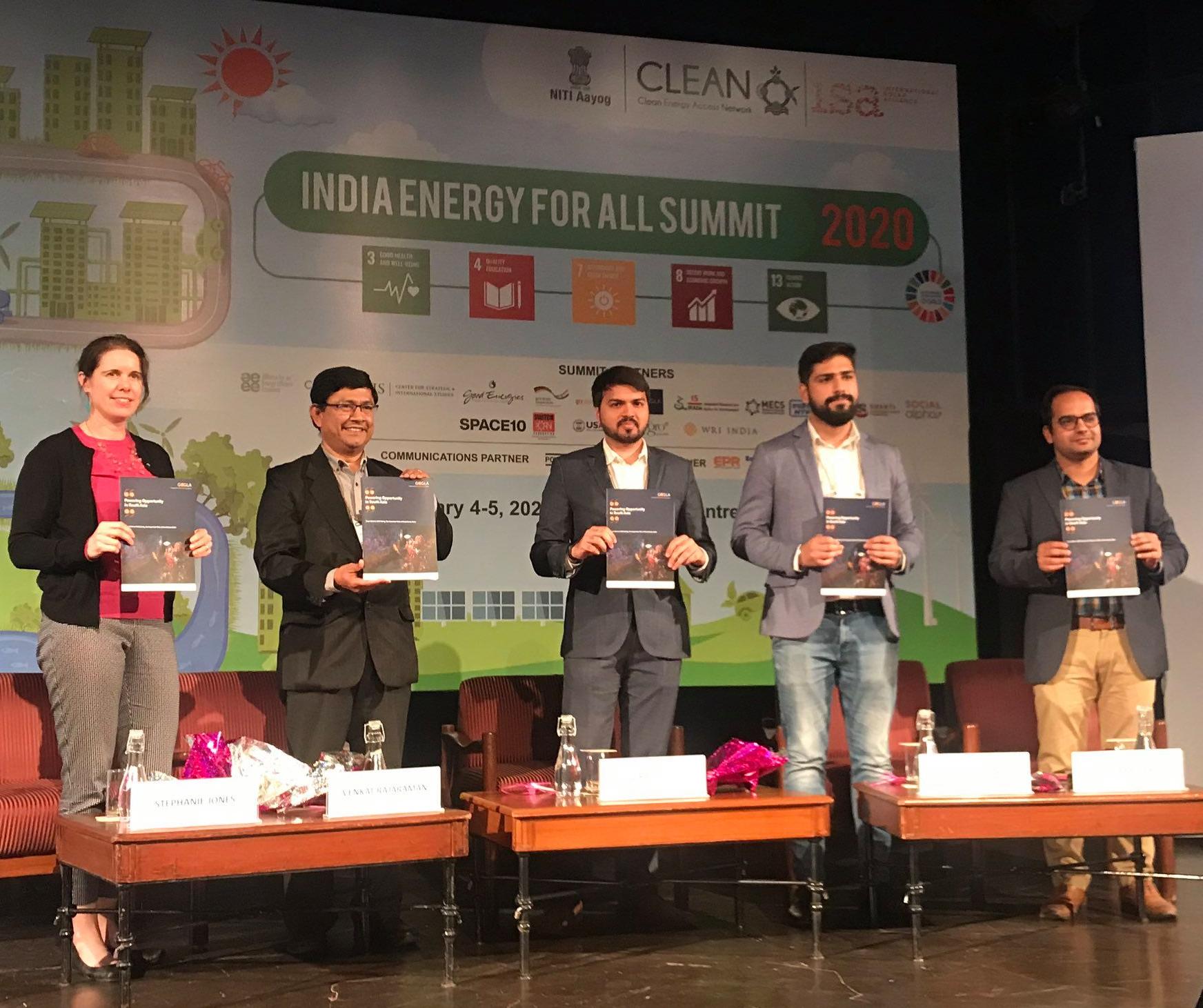 India Energy summit